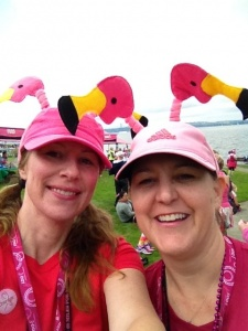 Two Women Komen Walkers